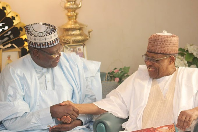 YOU HAVE MY BLESSINGS, IBB TELLS LAMIDO