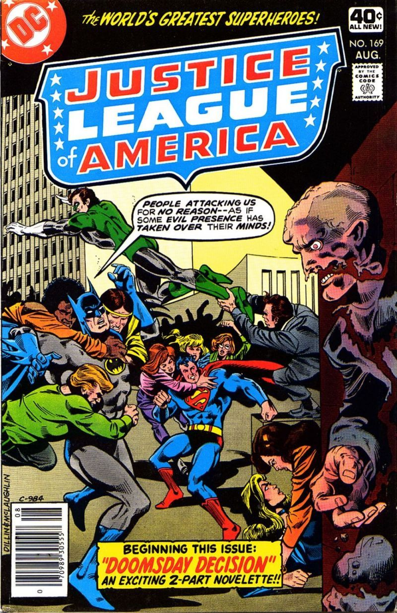 Justice League of America (1960) 169 Page 1