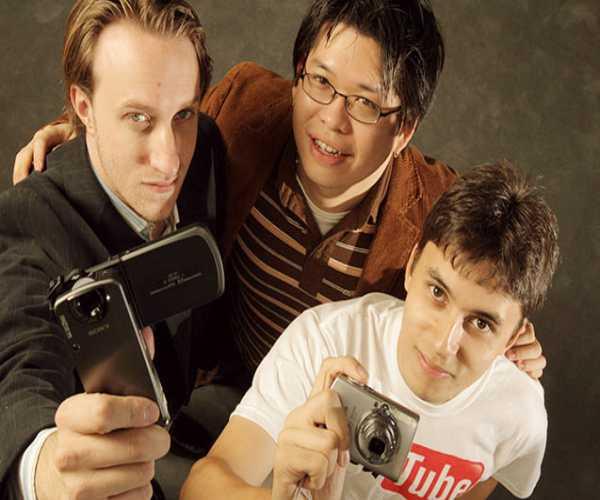 مؤسس يوتيوب - تشاد ، ستيف ، وجافيد