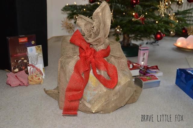 Sack mit Geschenken