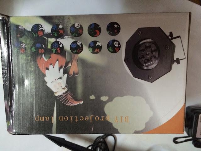 Đèn Laser Với 12 thẻ thay đổi hình _7