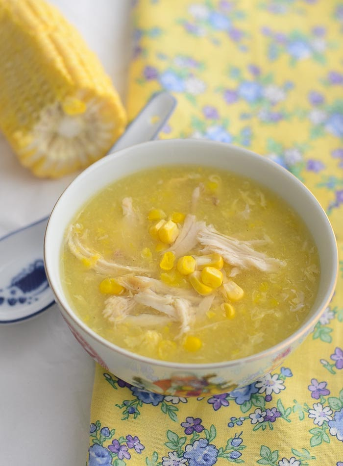 Chicken and Sweetcorn soup recipe