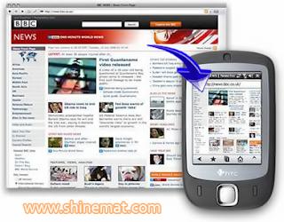 Mobile website for business