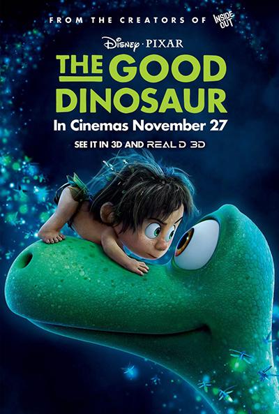 The Good Dinosaur (BRRip 1080p Dual Latino / Ingles) (2015)