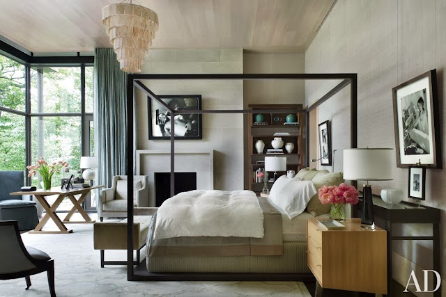 CONTEMPORARY BEDROOM BY MCALPINE BOOTH & FERRIER INTERIORS