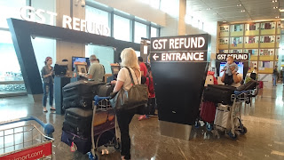 GST Refund Changi Airport
