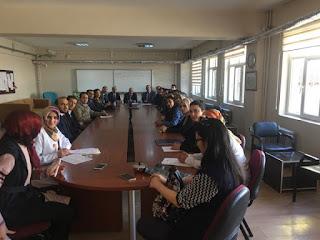 Bitlis İl Milli Eğitim Müdürü KORKMAZ Ahlat'ı Ziyaret Etti