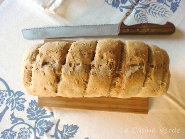 pane con pasta madre