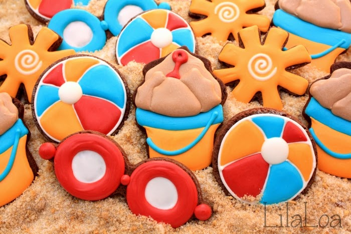 Sand pail cookie tutorial