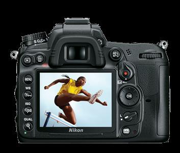LCD pada Nikon D7000 memiliki resolusi yang cukup tinggi sehingga terlihat jernih ketika kita melihat hasil jepretan foto