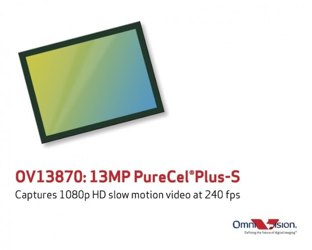OmniVision New 13MP PureCel Plus-S Sensor