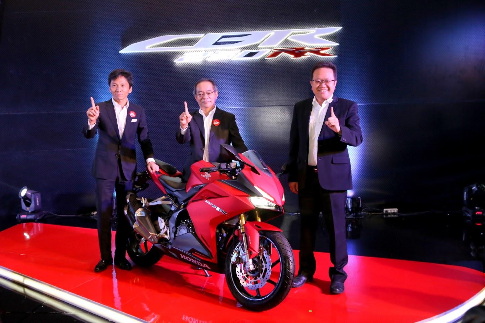 AHM resmi rilis All New Honda CBR 250RR 2018, ada warna baru sob !