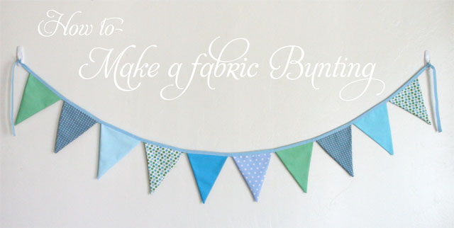 The Theme Was Brought Together With A Bunting Design On Invitations Cookies And Homemade Fabric