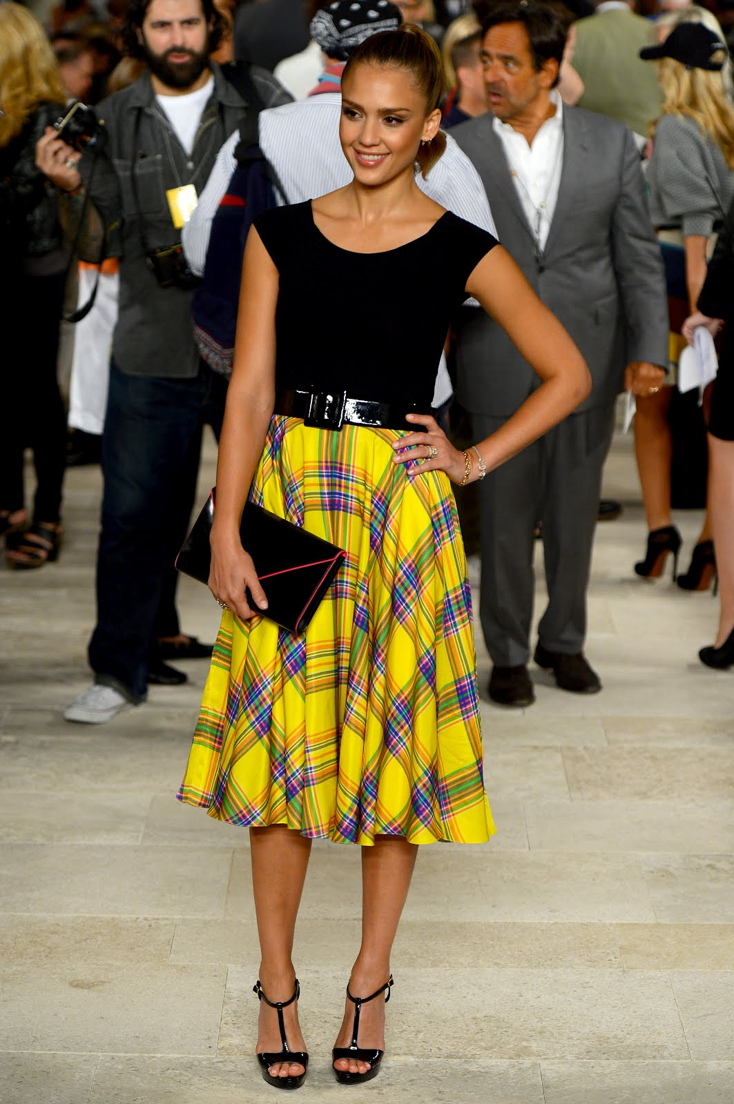 Jessica Alba - Ralph Lauren Spring 2013 – Red Carpet