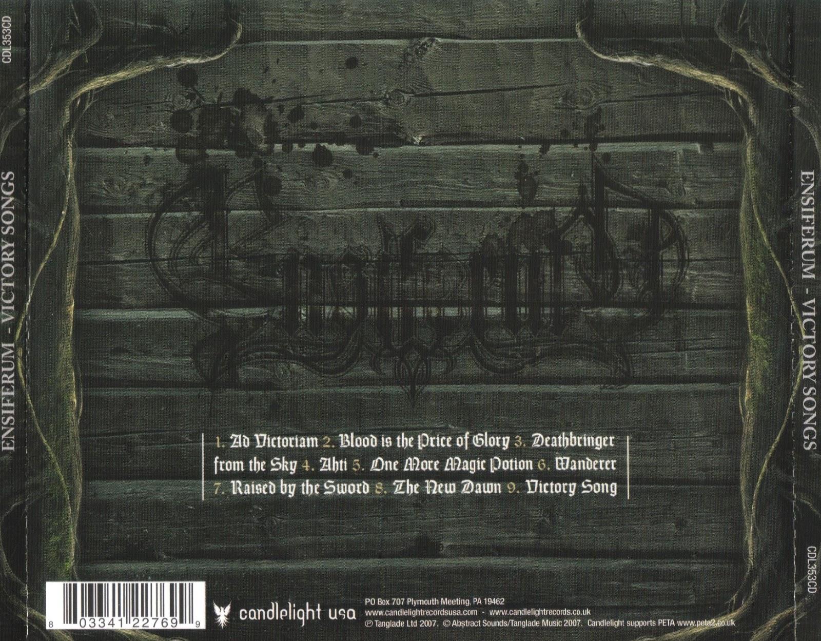 Valhalla Atrium: Ensiferum Victory Songs