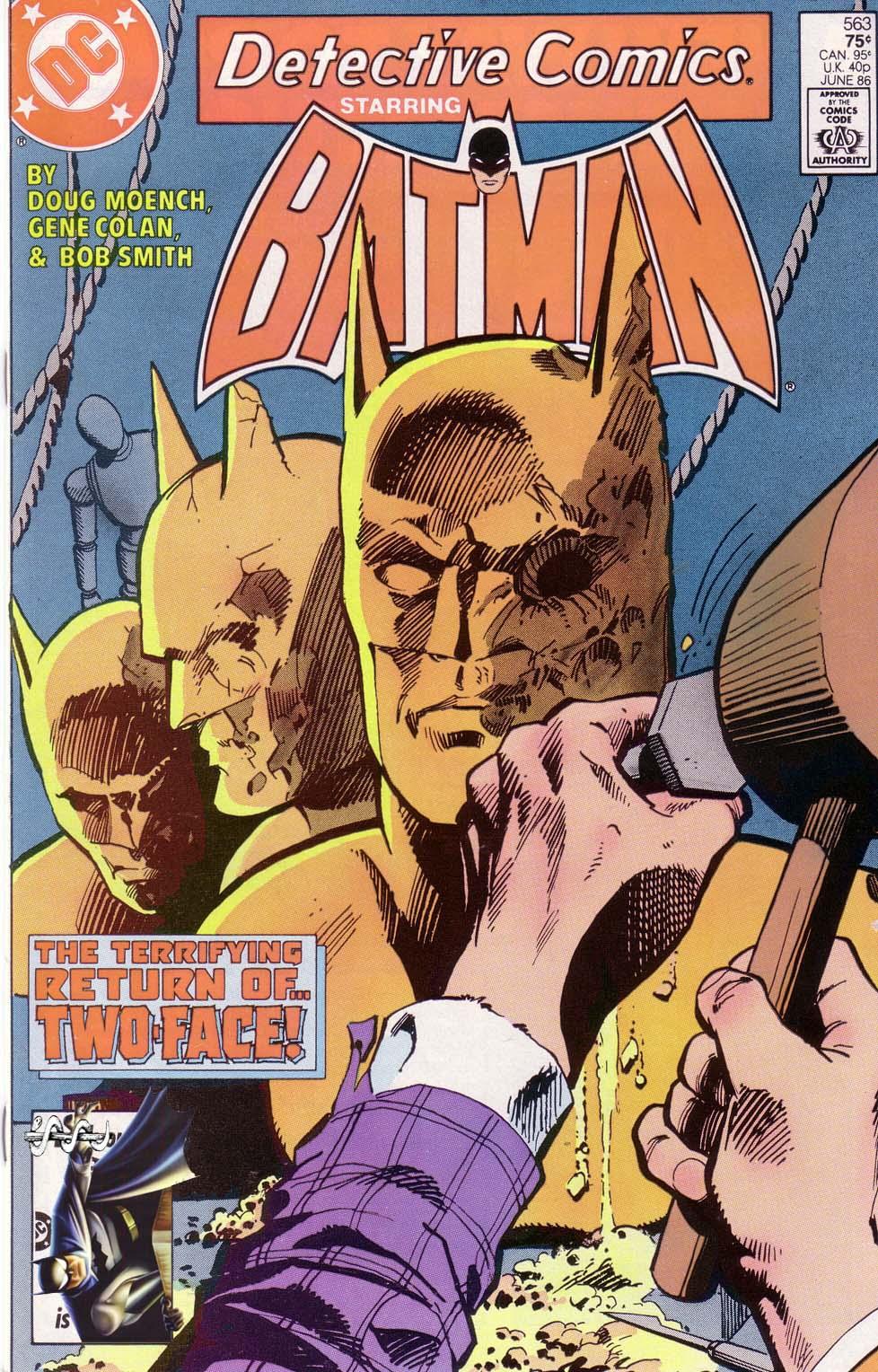 Detective Comics (1937) 563 Page 0