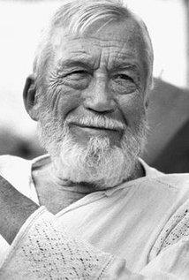 John Huston. Director of The Treasure of the Sierra Madre