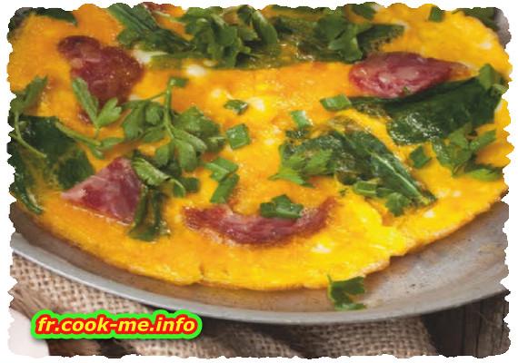 Omelette occitane