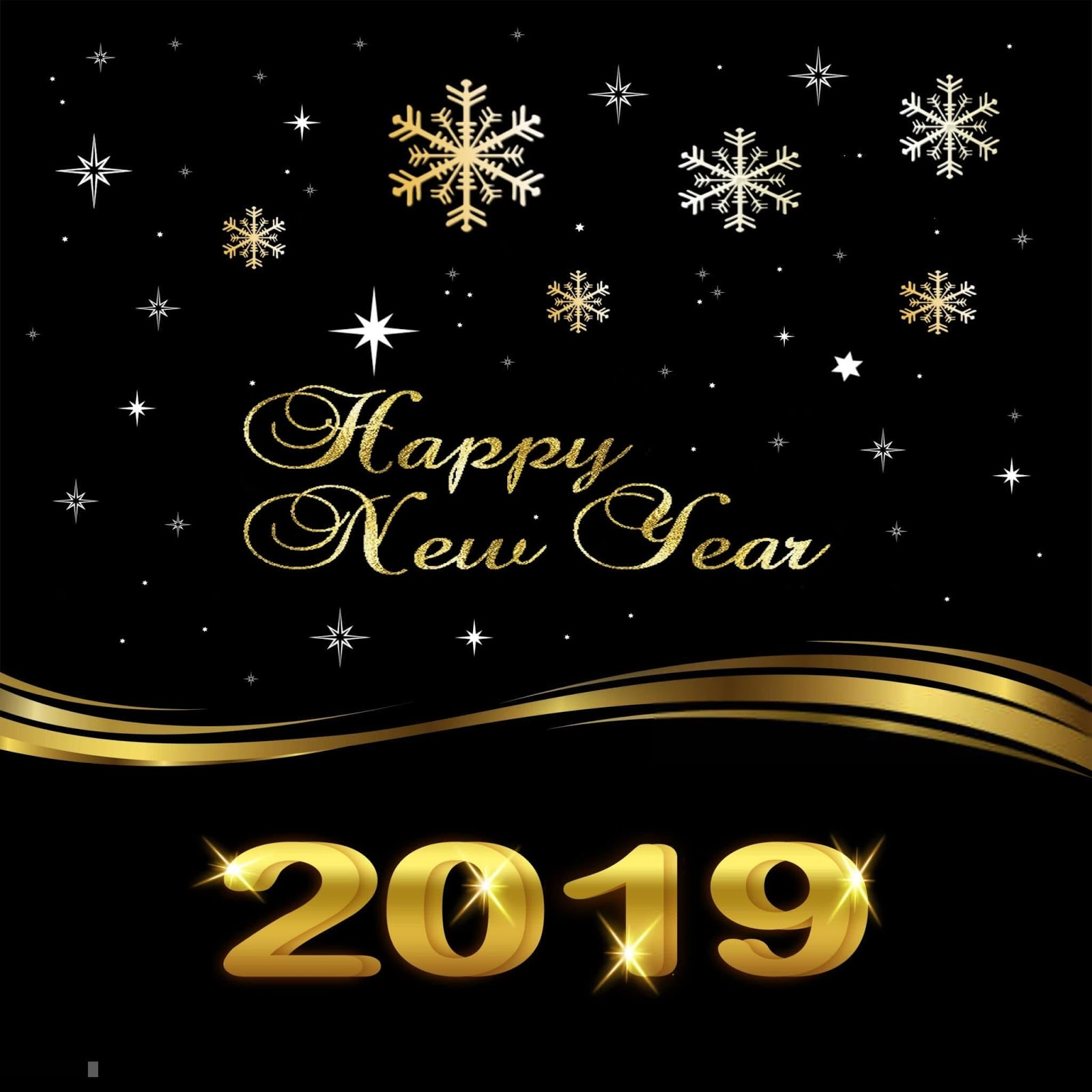 Happy New Year 2019 HD Wallpaper and Images Download Free