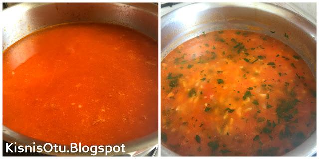 Domatesli, Pirinç, Çorbası, Tarifi, Çorba tarifleri, Kolay tarifler, Kişniş, Blog, Yemek