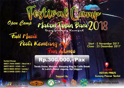 Festival Camping Tahun Baru 2018