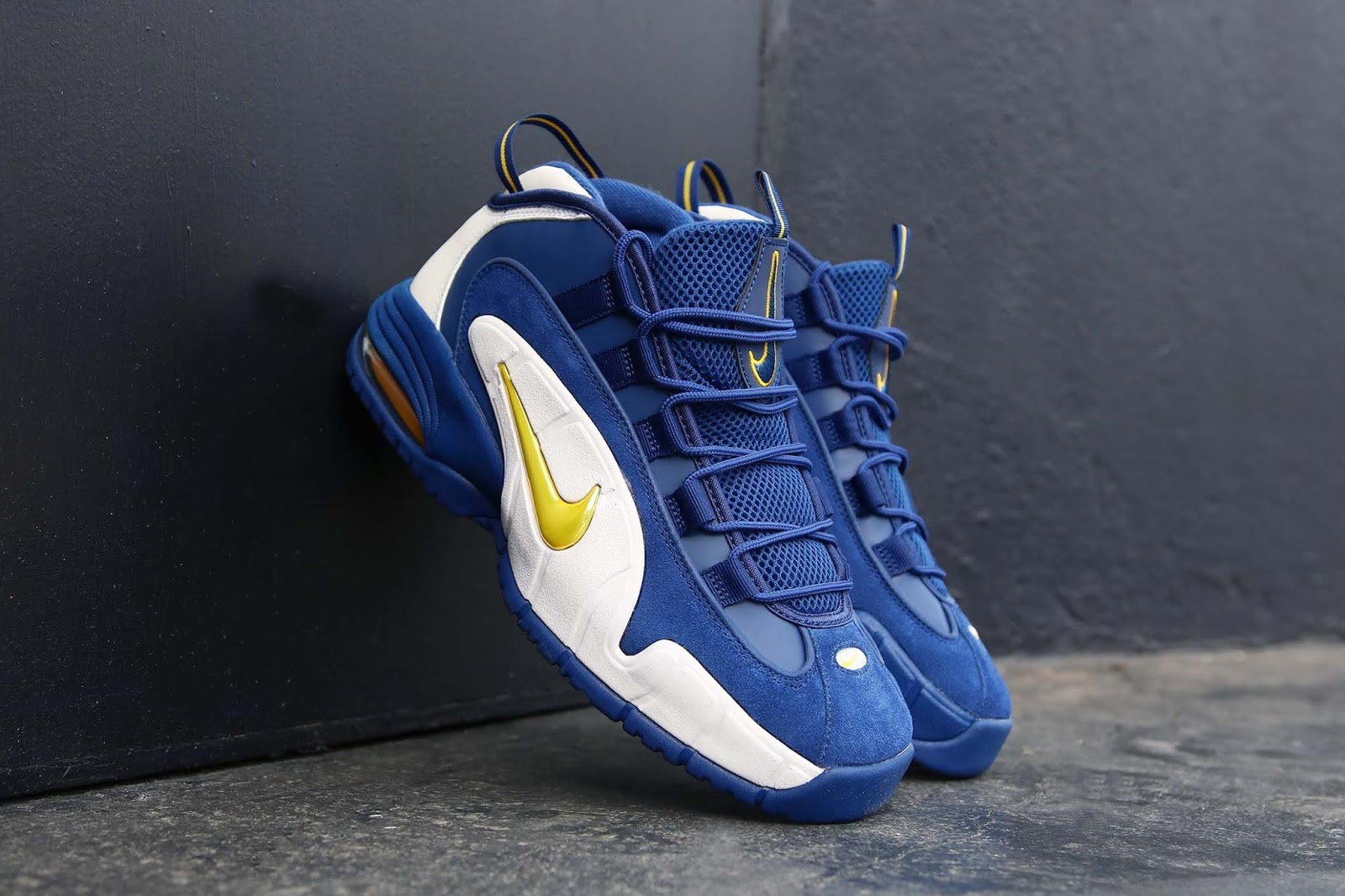 sports shoes 93e92 59718 Swag Craze: First Look: Nike Air Max Penny 1 'Warriors'