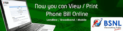 BSNL Duplicate Bill Online