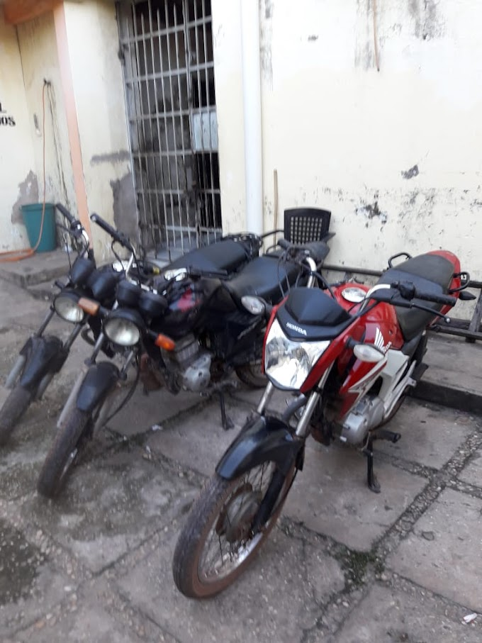 CAXIAS - Policia Civil através da Delegacia Regional recupera mais 3 motos roubadas