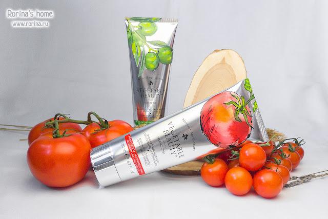 Шампунь ревитализирующий с экстрактом помидора Vegetable Beauty: отзыв