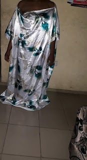 Hilarious! Lady Told Her Tailor To Make A Simple Gown For Her, See What She Got