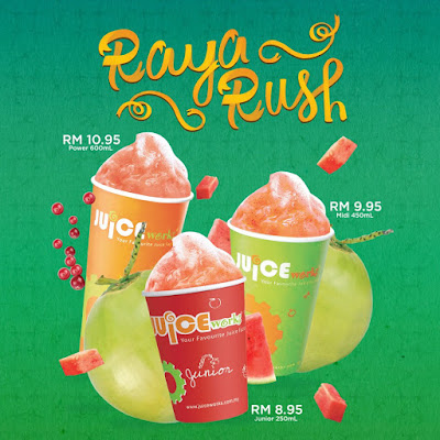 Juice Works Buy 1 Free 1 Promo Raya Rush Ramadan Month