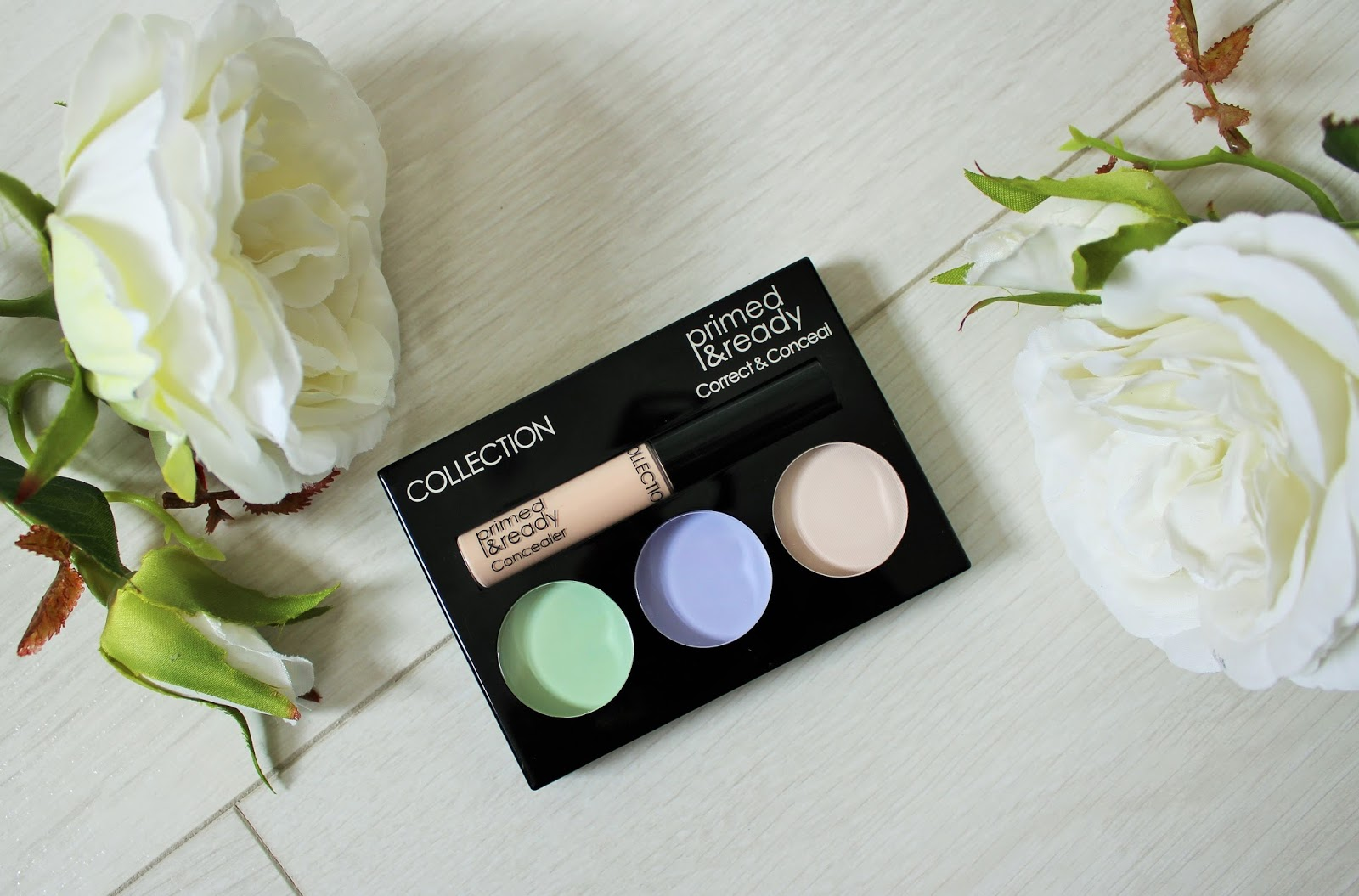 Collection Primed & Ready Correct & Conceal Palette Review - 1