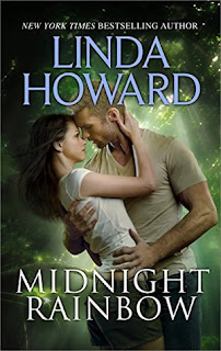 romance novel covers, romantic suspense, Midnight Rainbow by Linda Howard