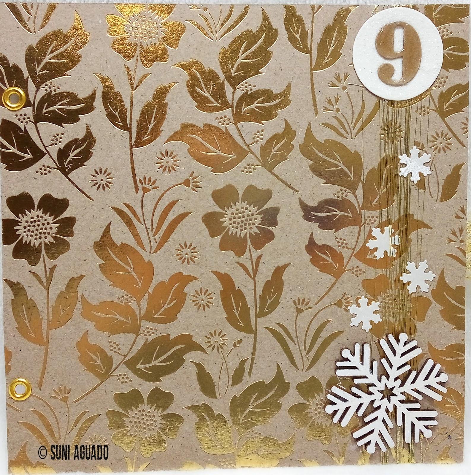 Suni Aguado: Diario de Navidad días 9 al 12 - December daily - Mixed ...