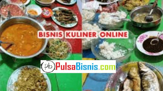 Mengenal Bisnis Kuliner Online untuk Ditindaklanjuti dan Digeluti