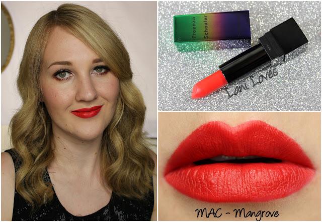 MAC Mangrove lipstick swatch