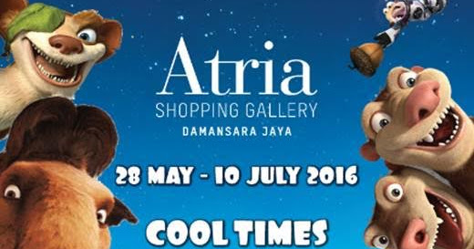 Cool Times With Ice Age Collision Course At Atria Shoping Gallery