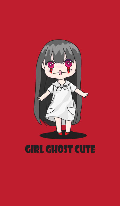 ghost girl cute
