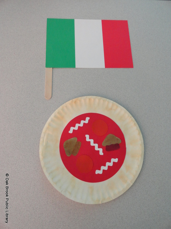 Pizza Plate Craft