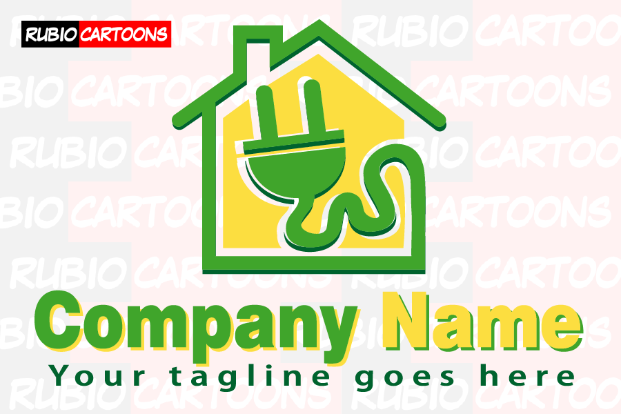 LOGOSTORE: ELECTRICAL CABLE AT HOME LOGO