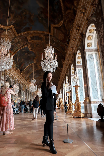 Alicia Mara Outfit at Palace of Versailles Paris