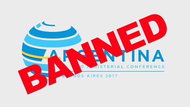 Resultado de imagen de La cumbre de la OMC empieza con escándalo