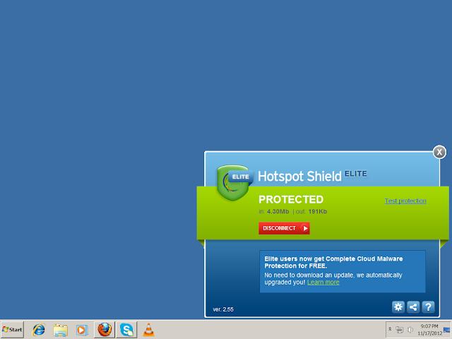 নিজেই  ক্র্যাক করুন Hotspot Shield Elite ১০০%