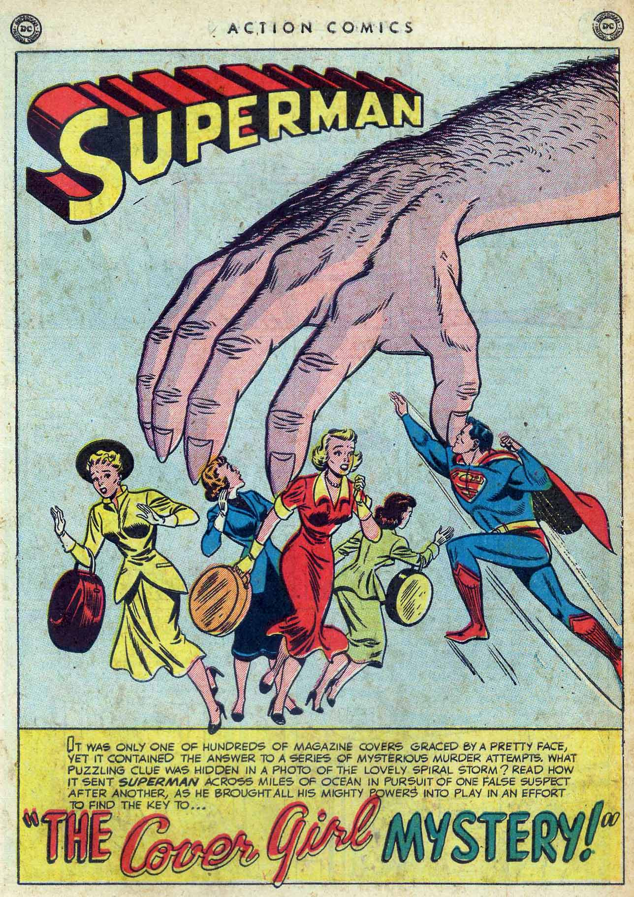 Read online Action Comics (1938) comic -  Issue #155 - 3