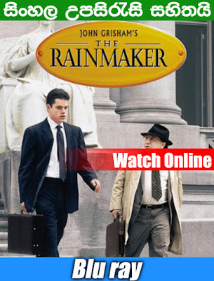 The Rainmaker 1997 Full movie Watch Online With SInhala Subtitle