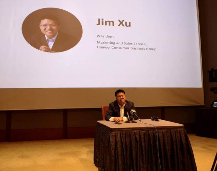 Jim Xu, President, Marketing and Sales Service, Huawei Consumer Business Group