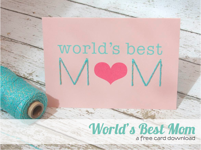 #mother's day #card #free #download #mom
