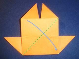 Langkah -langkah dalam membuat kapal layar dari keratas lipat
