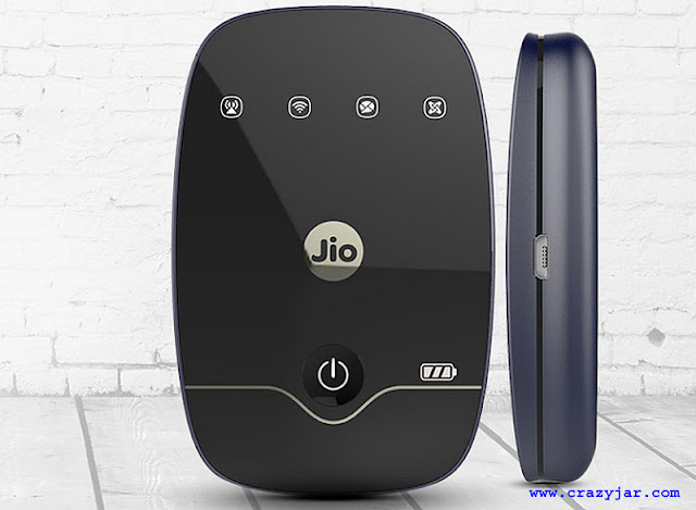 crazyjar reliance jio mifi device