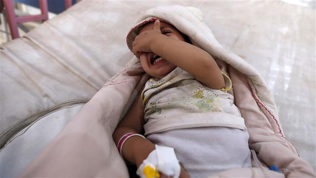 Over half million Yemenis infected with cholera since April: World Health Organization